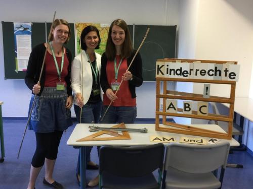 Potsdamer Tag der Wissenschaften mit Steffi Bosse, Jennifer Lambrecht und Vivien Wysujack