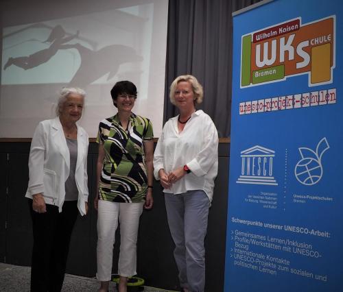 Vortrag von Annedore Prengel an der Wilhelm-Kaiser-Oberschule (Foto: Mirco Goetz)